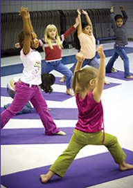 Young Person Yoga